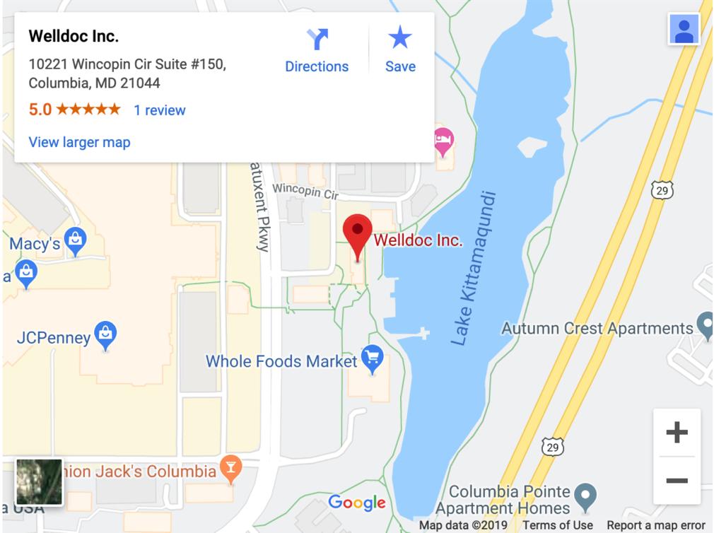 Welldoc location
